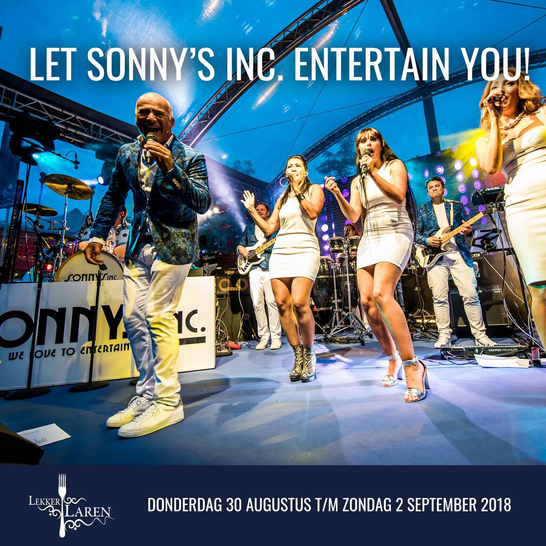 Traditioneel concert Sonny's Inc. Live in Laren