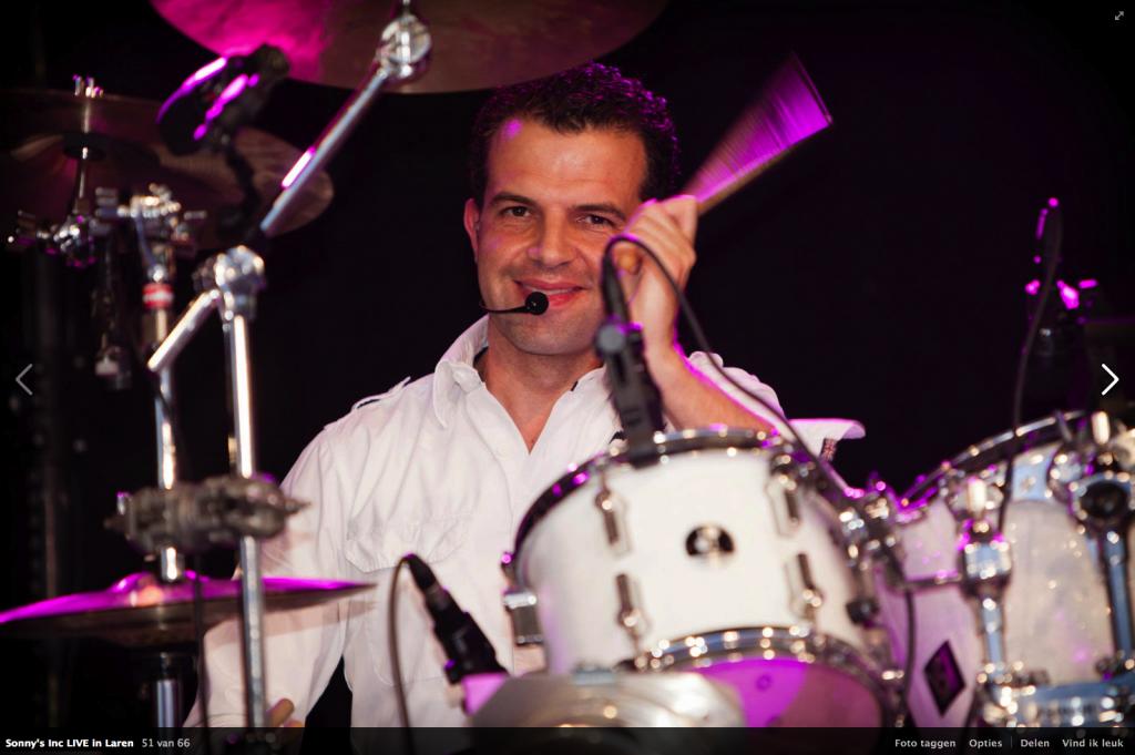 Ramon Braumuller drummer Sonny's Inc.