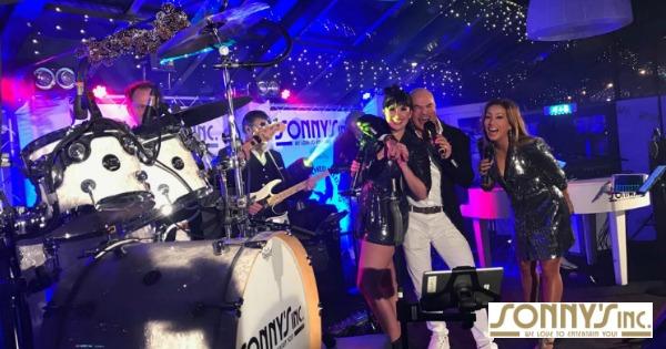 Kerstfeest ITDS Groep - Sonny's Inc - De Entertainmentband van Nederland -