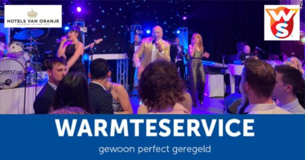 Kerstfeest Warmteservice - Sonny's Inc - De Entertainmentband van Nederland -