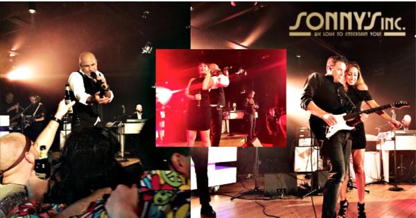 Spektakel in Spakenburg met Heinen & Hopman op deOCEAANDIVA Futura - Sonny's Inc - De Entertainmentband van Nederland -