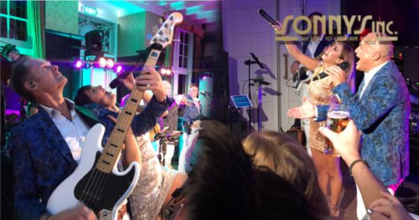 Hooge Vuursche met Sonny's Inc. - Sonny's Inc - De Entertainmentband van Nederland -
