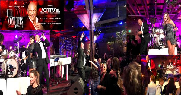 Kerstdagen The Harbour Club Amsterdam - Sonny's Inc - De Entertainmentband van Nederland -