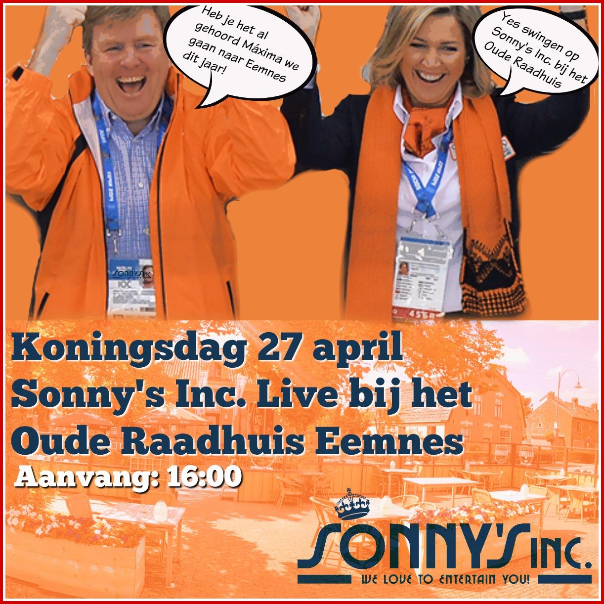 Koningsdag Eemnes met Sonny's Inc.