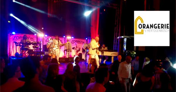 Jubileum in de Orangerie - Sonny's Inc - De Entertainmentband van Nederland -
