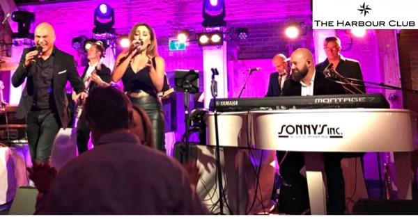 Nieuwjaarsfeest The Harbour Club - Sonny's Inc - De Entertainmentband van Nederland -