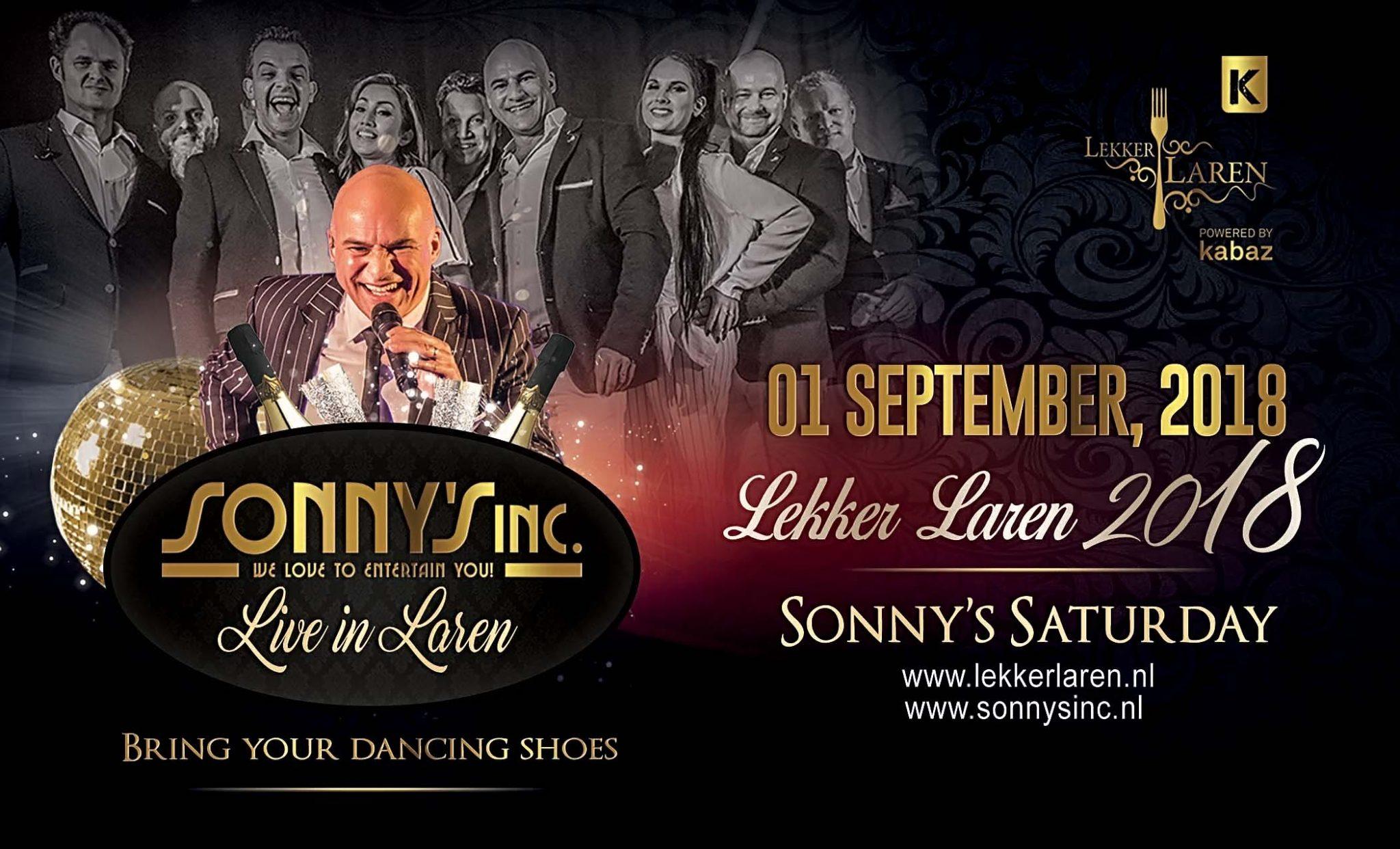 Lekker Laren 2018 met het traditionele concert van Sonny's Inc.