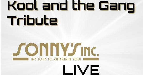 Kool and the Gang medley - Sonny's Inc - De Entertainmentband van Nederland -