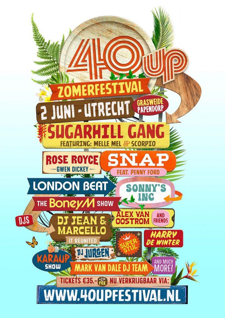 40UP zomerfestival met Sonny's Inc. Lite