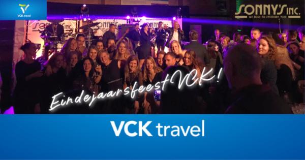 Eindejaarsfeest VCK Travel - Sonny's Inc - De Entertainmentband van Nederland -