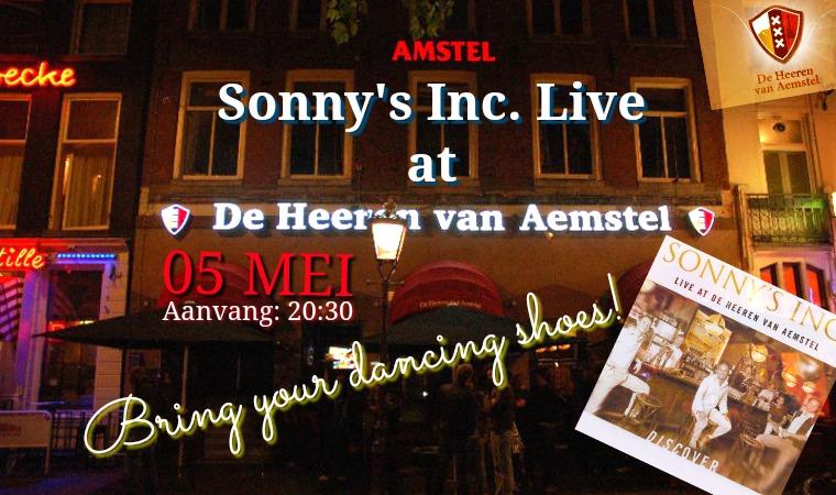 Sonny's Inc. Live in de Heeren van Aemstel